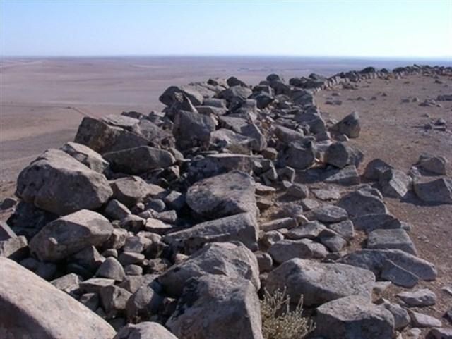 Discovery of a 4,000 year old military network in northern Syria