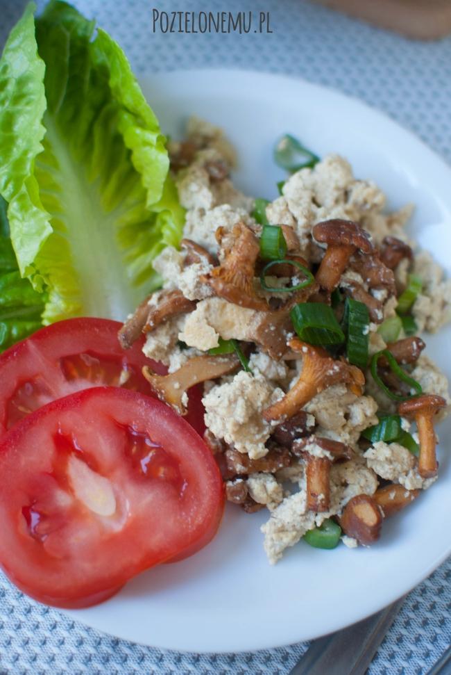 Śniadaniowo mi #20: Tofucznica z kurkami