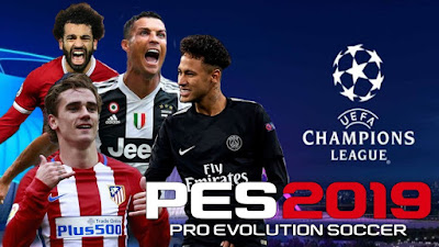 PES 2019 PPSPP Updated Textures + Save Data 2019