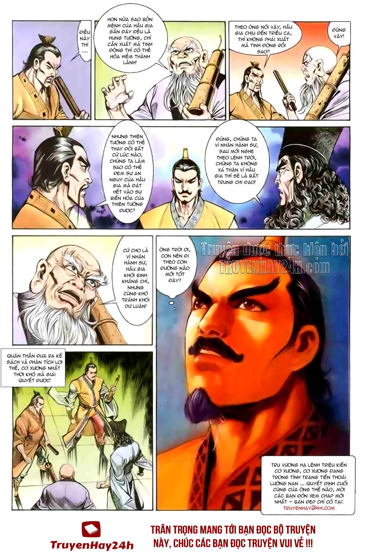 Cơ Phát Khai Chu Bản chapter 131 trang 33