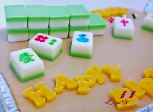 chocolate mahjong birthday cake recipe