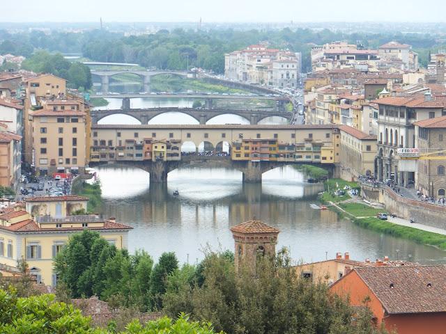 Ponte Vecchio, Piazzale Michelangelo, Firenze, Florencia, Elisa N, Blog de Viajes