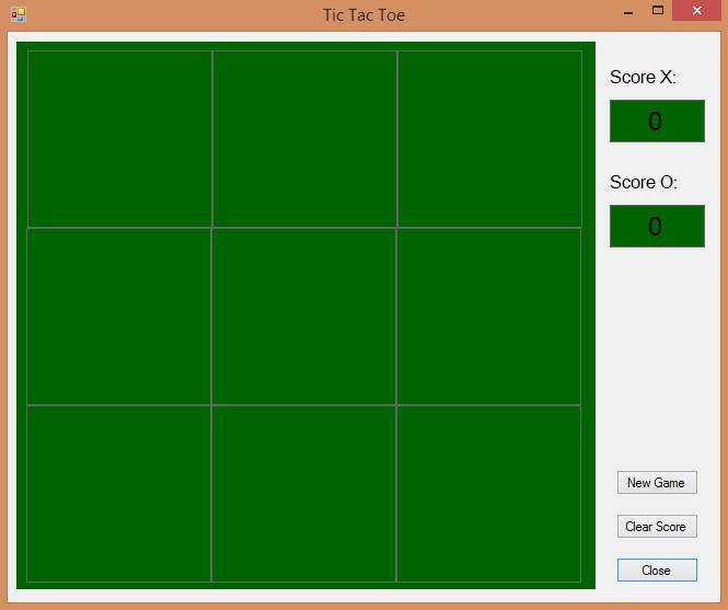 Preempted: Visual Basic - Tic Tac Toe Anyone?