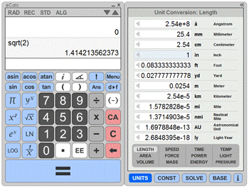 Online Scientific Calculators