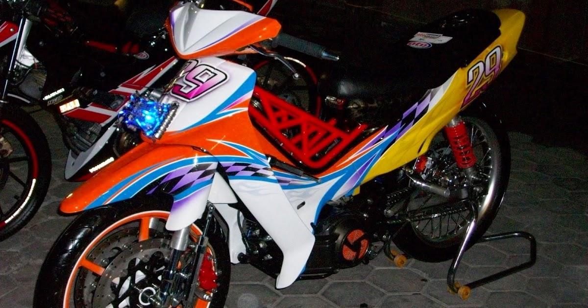 Koleksi Gambar Modifikasi Yamaha Fizr Road Race