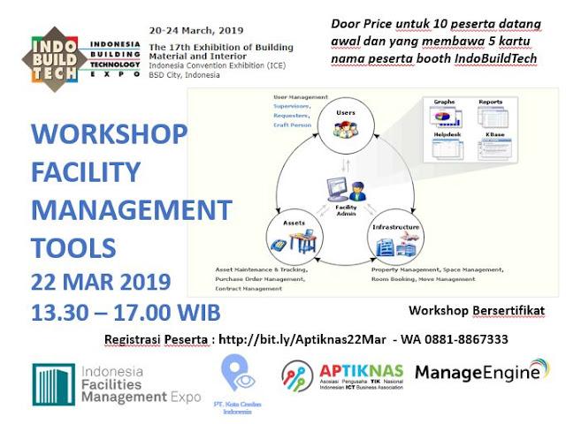 Workshop Facility Management 22 Maret 2019 - INDOBUILDTECH