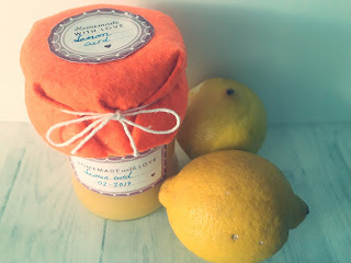 Lemon curd ( crema de limón inglesa)