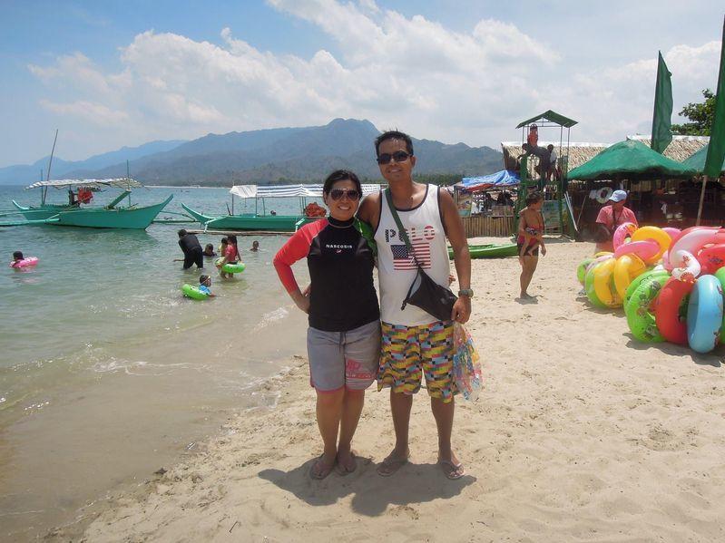 Enjoying the beach at Paseo Verde Beach Resort