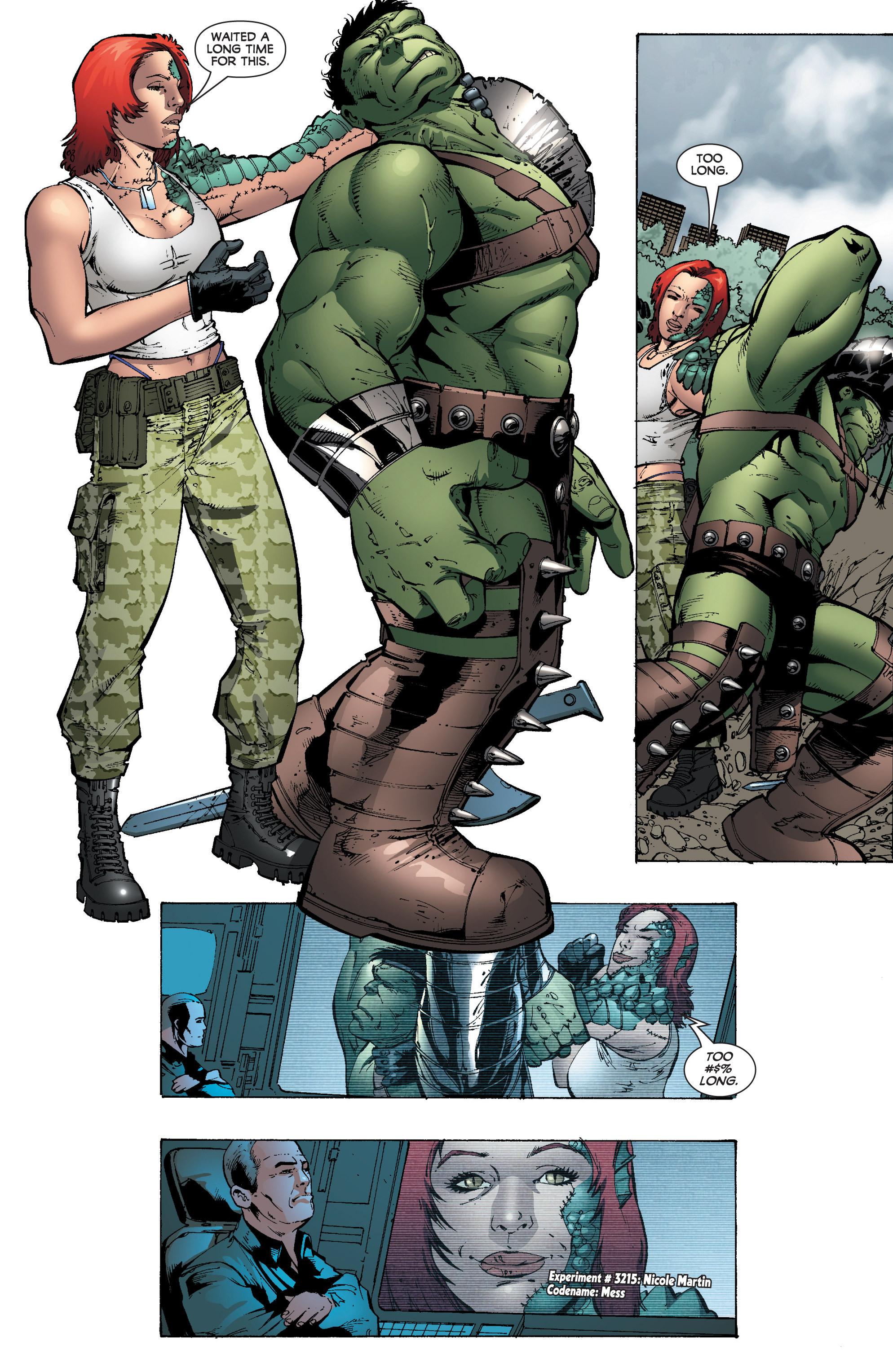 Read online World War Hulk: Gamma Corps comic -  Issue #3 - 18