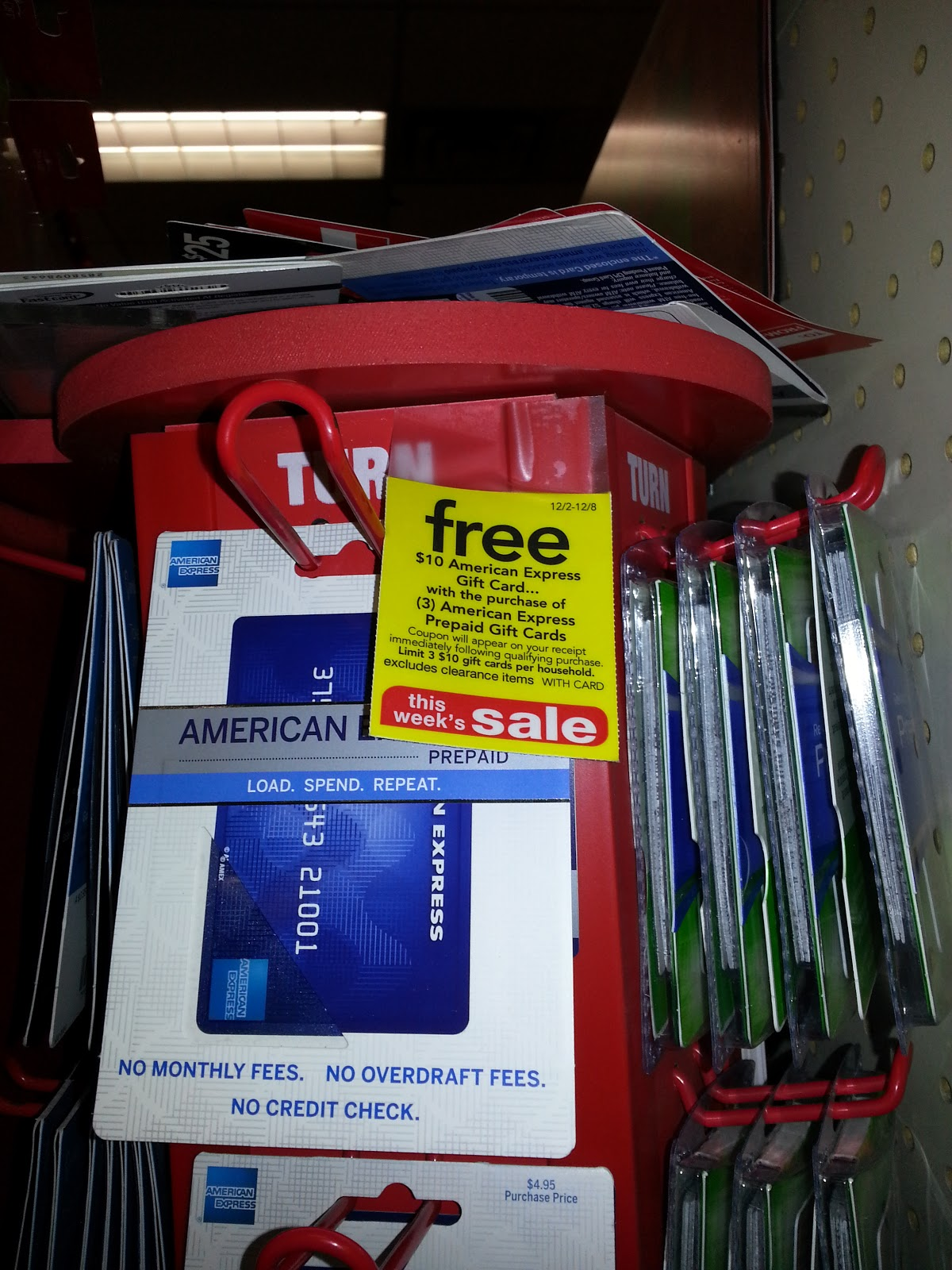 american express - Cvs Prepaid Cards