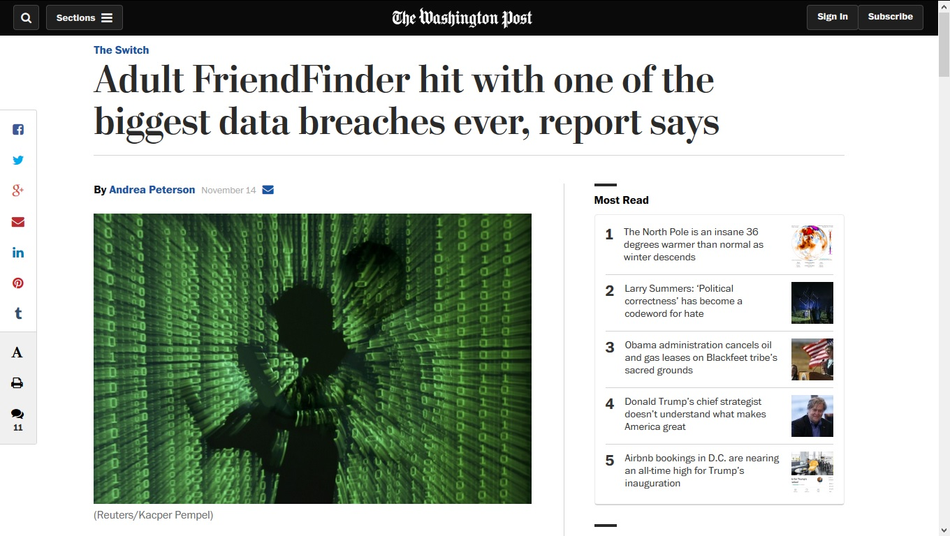 "breaking the online dating sound barrier"": aff data breach, old? new"