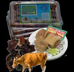 isi daging sapi + jamur