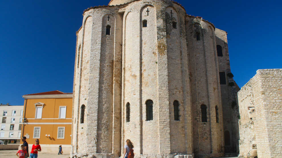 Zadar Croatia old town architecture