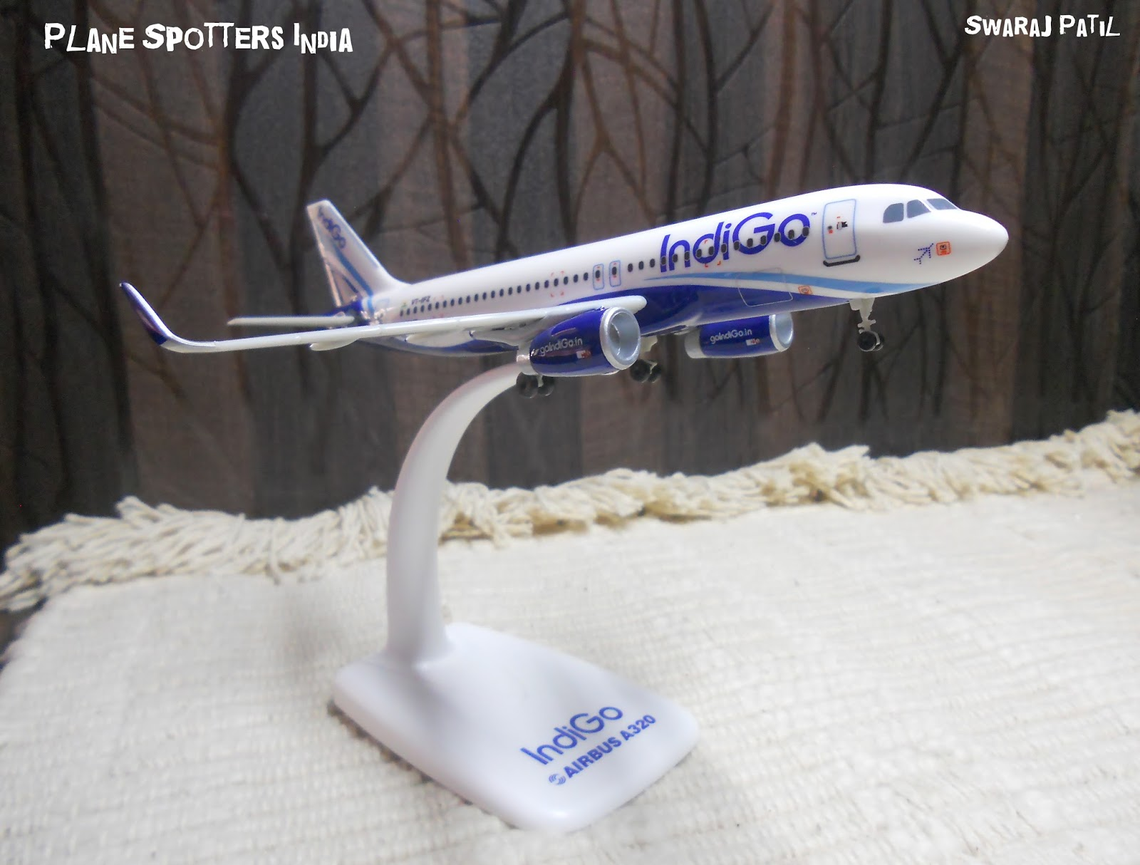 Indigo's Airbus A320 | 1:200 Scale Model   - Plane Spotters India