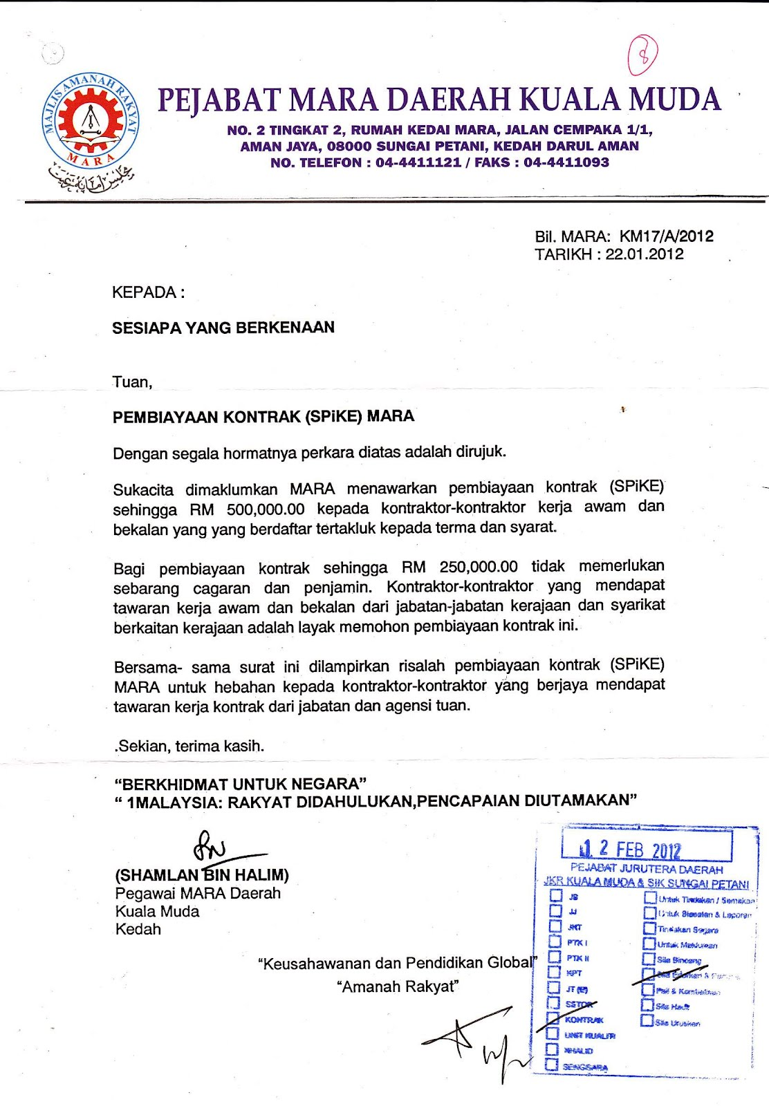 Contoh Surat Rasmi Tolak Tawaran In English Grasmi Cute766