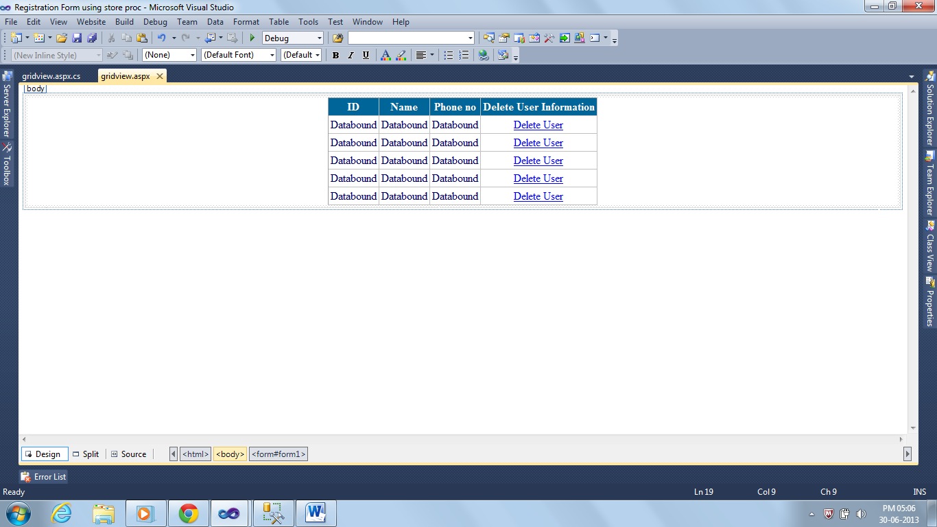 Delete data from gridview in asp net c# - Neeraj Code Solutions- asp
