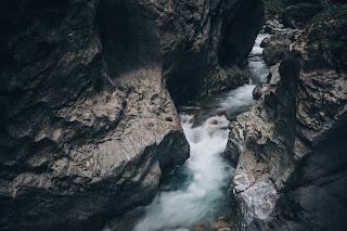 a canyon stream