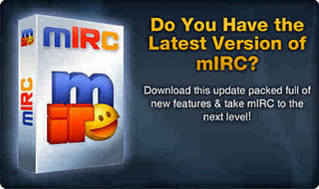mIRC is a full featured Internet Relay Chat client for Windows