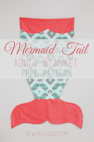 http://www.sewmuchado.com/2016/10/adult-mermaid-tail-blanket-free-pattern.html