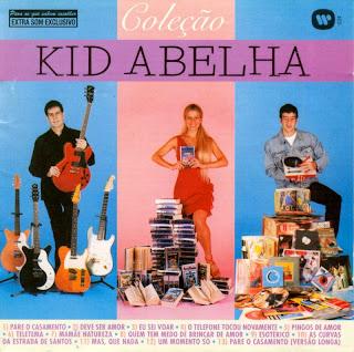 Capa do disco Coleção, lançado em 2000 pelo grupo Kid Abelha