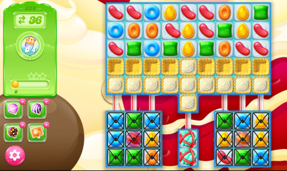 Candy Crush Jelly Saga 326