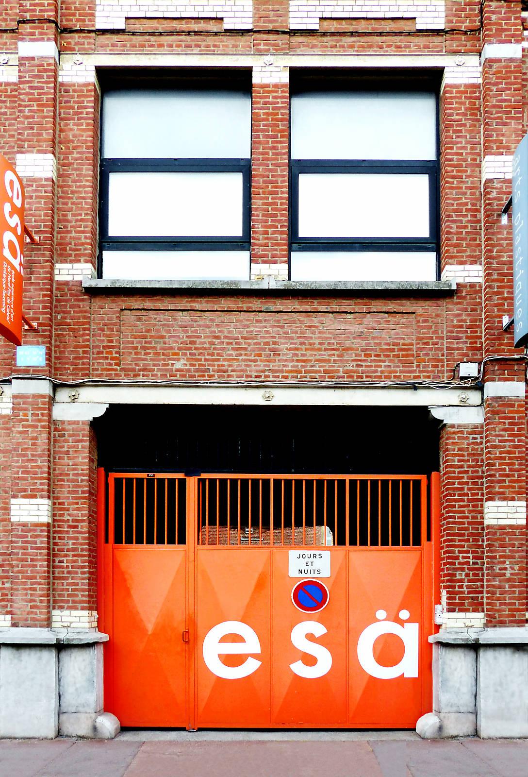 Entrée esä - Tourcoing, rue des Ursulines
