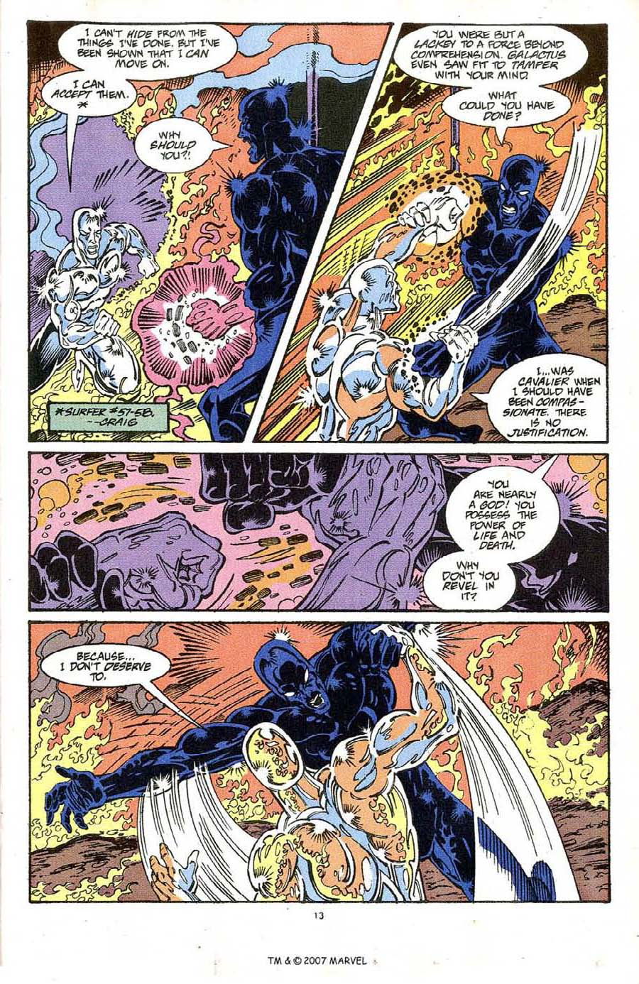 Read online Silver Surfer (1987) comic -  Issue #64 - 15