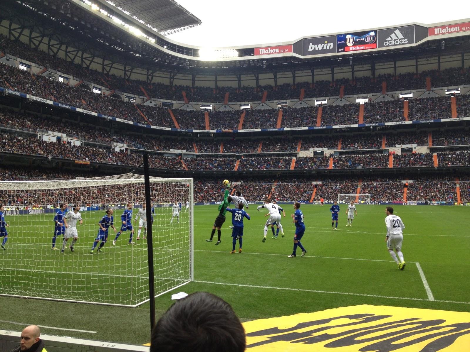 Getafe 0 Real Madrid 0: SECCIÓN ULTRAS SUR VILLENA