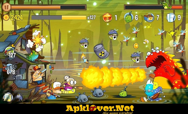 Swamp Attack MOD APK unlimited money