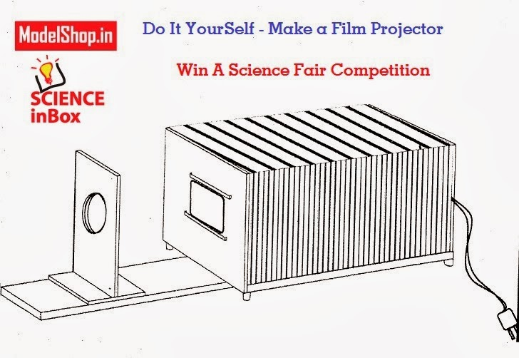 WINNING SCIENCE FAIR PROJECT - MAKE A FILM PROJECTOR Learn Science