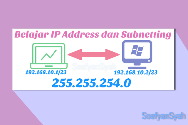 IP v4 , Belajar IP Address dan Subnetting