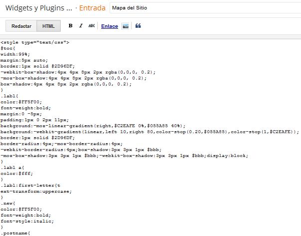 Como crear un Sitemap en una página web