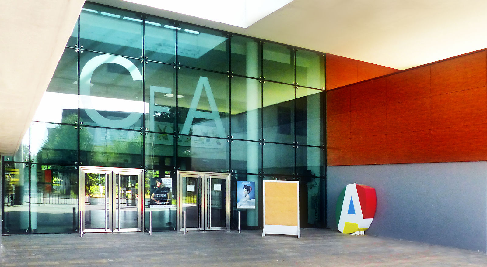 URMA CFA Virolois Tourcoing - Hall d'entrée.