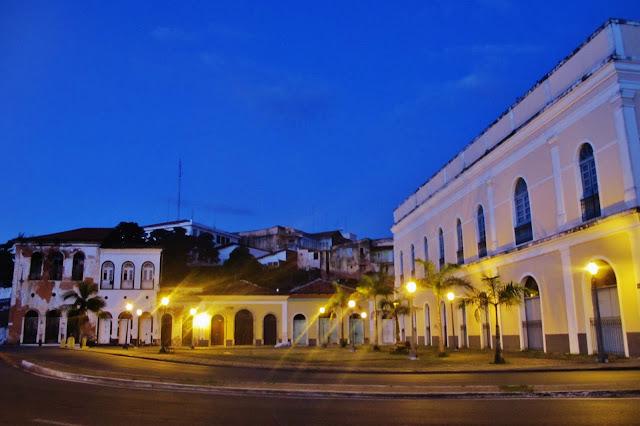 Centro histórico de São Luis, na Rota das Emoções