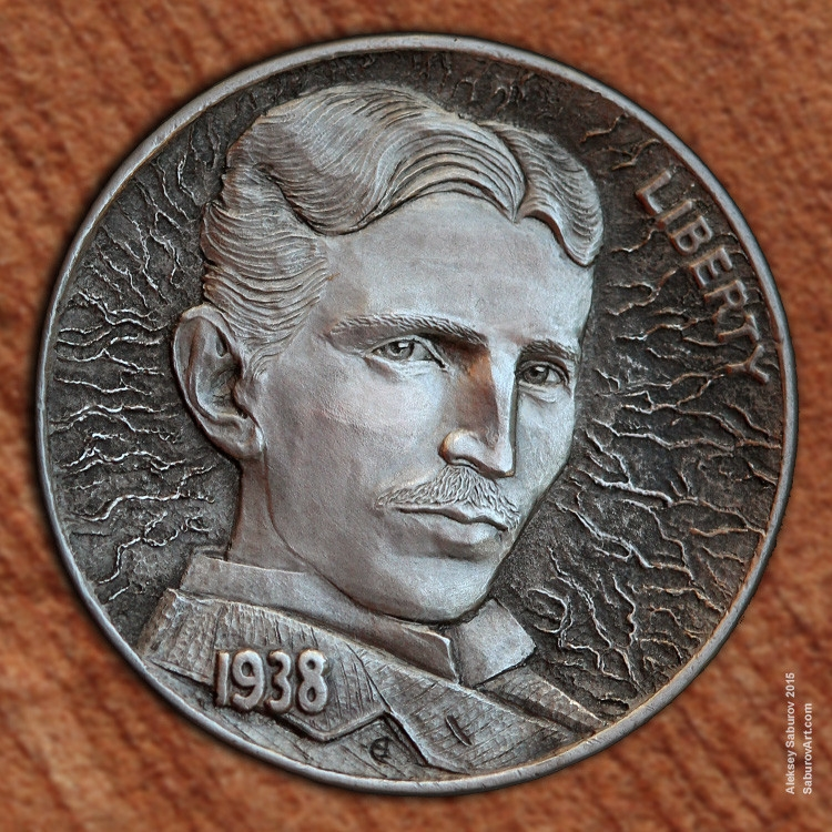 06-Nikola-Tesla-Aleksey-Saburov-Detailed-Carvings-on-Hobo-Nickel-Coins-www-designstack-co