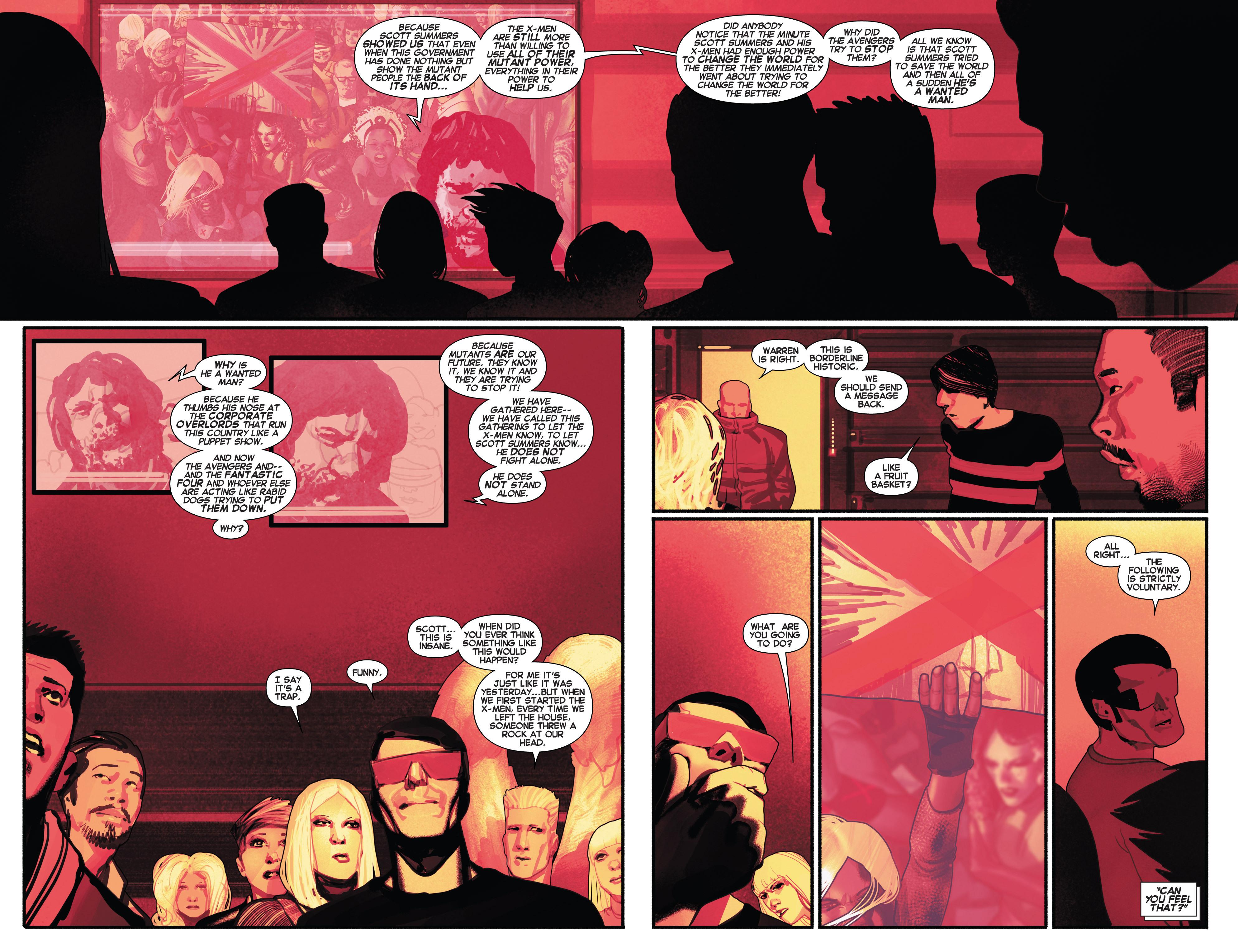 Read online Uncanny X-Men (2013) comic -  Issue # _TPB 2 - Broken - 92