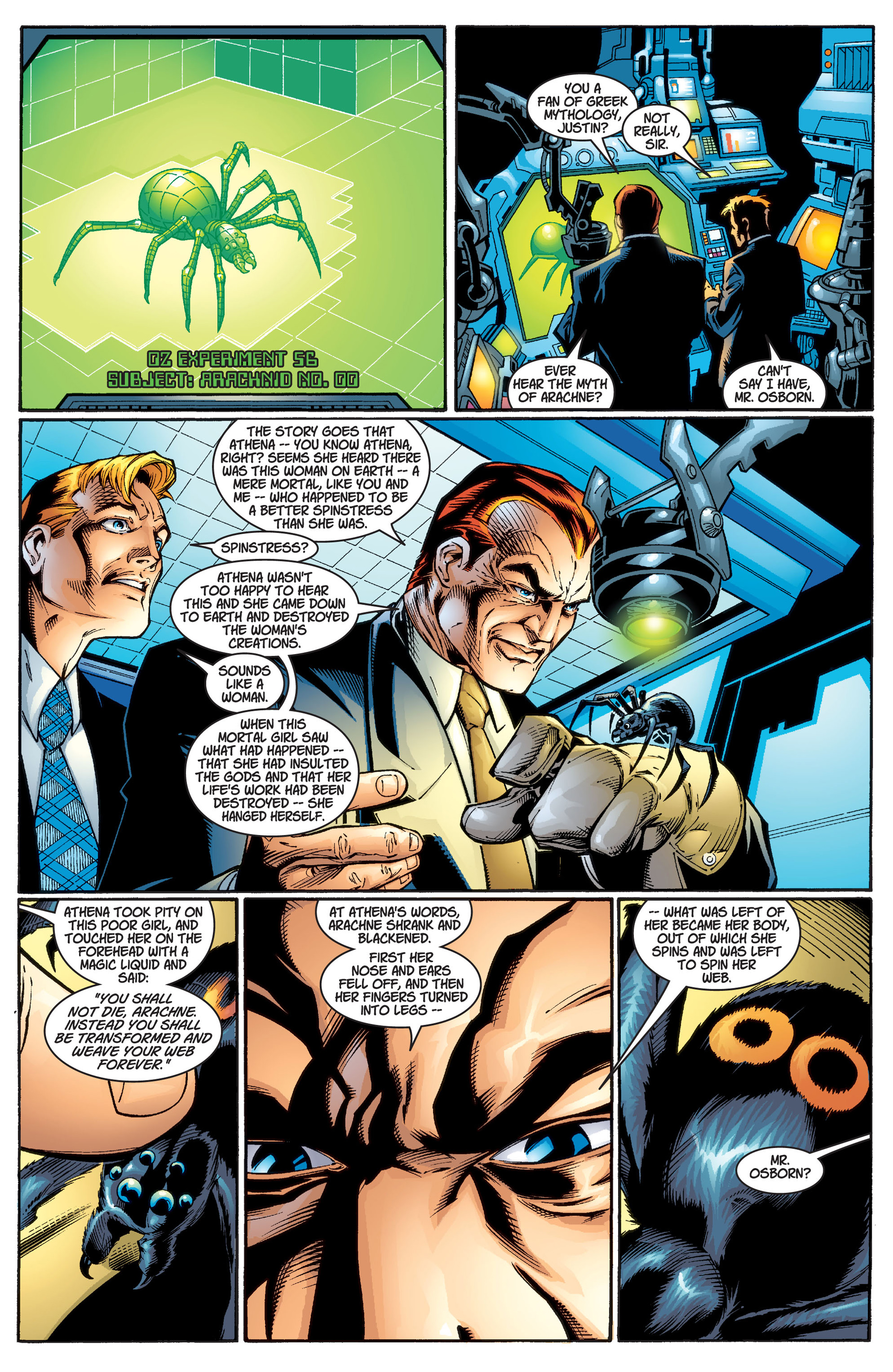 Read online Ultimate Spider-Man (2000) comic -  Issue #1 - 3