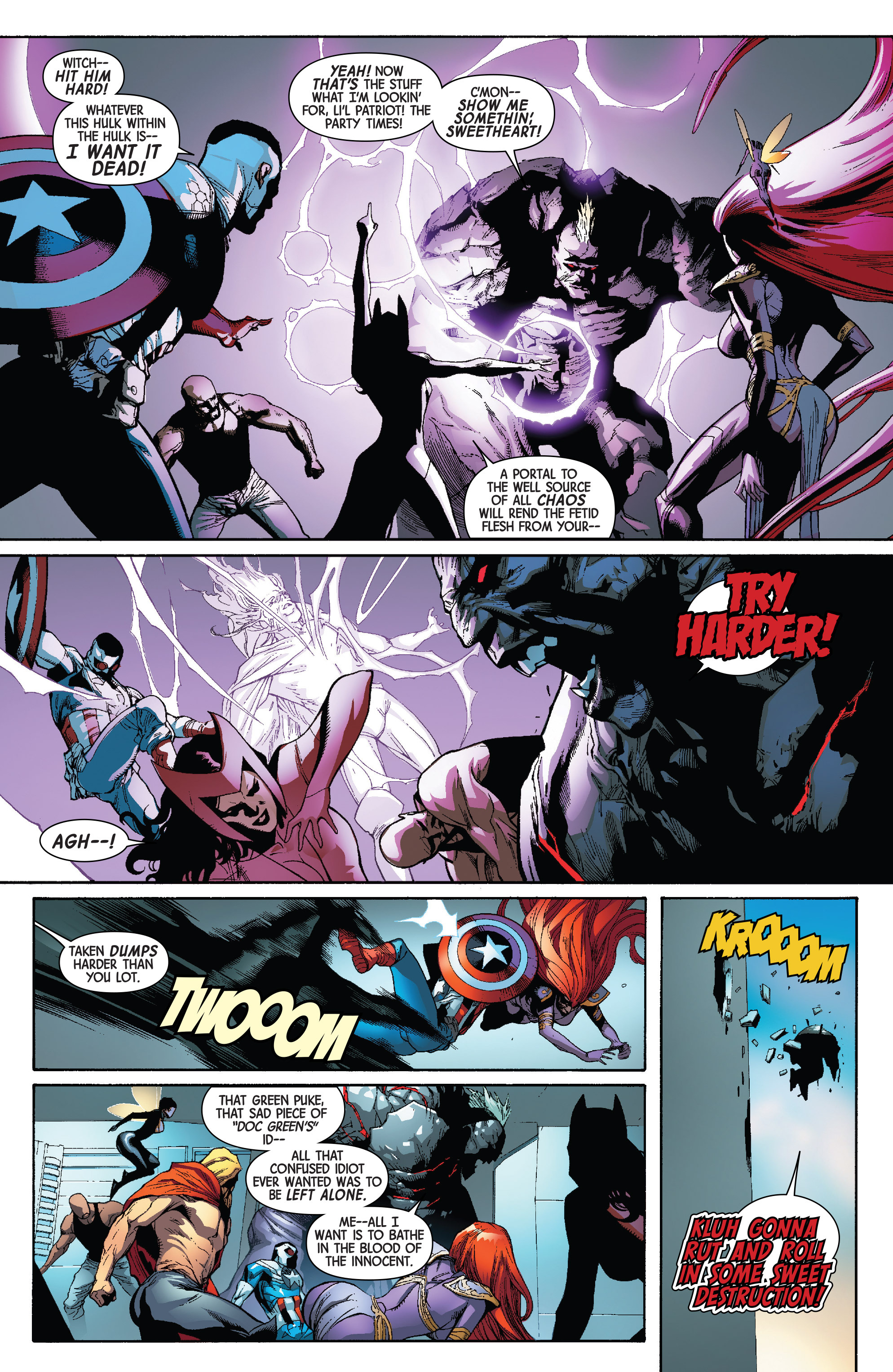 Read online Avengers & X-Men: AXIS comic -  Issue #4 - 24