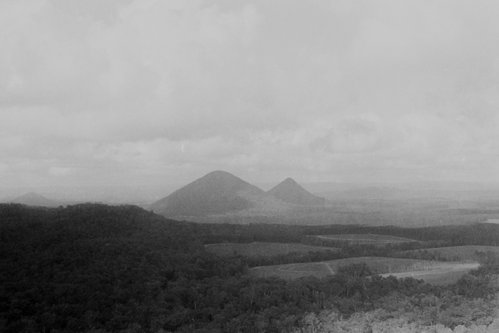 film photography mountain scape