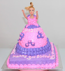 Doll Cake (Buttercream)