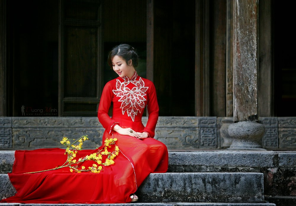 Ảnh đẹp girl xinh Áo dài truyền thống Việt Nam - Ảnh 04