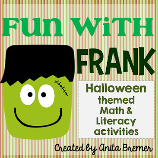 Halloween Themed Math & Literacy Activities for Kindergarten