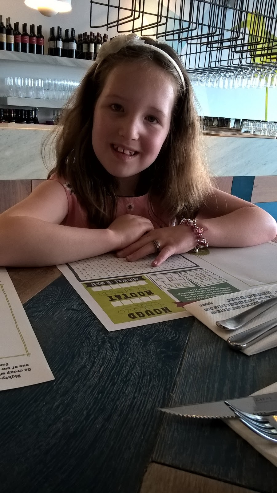 Caitlin at Zizzi Cardiff Bay