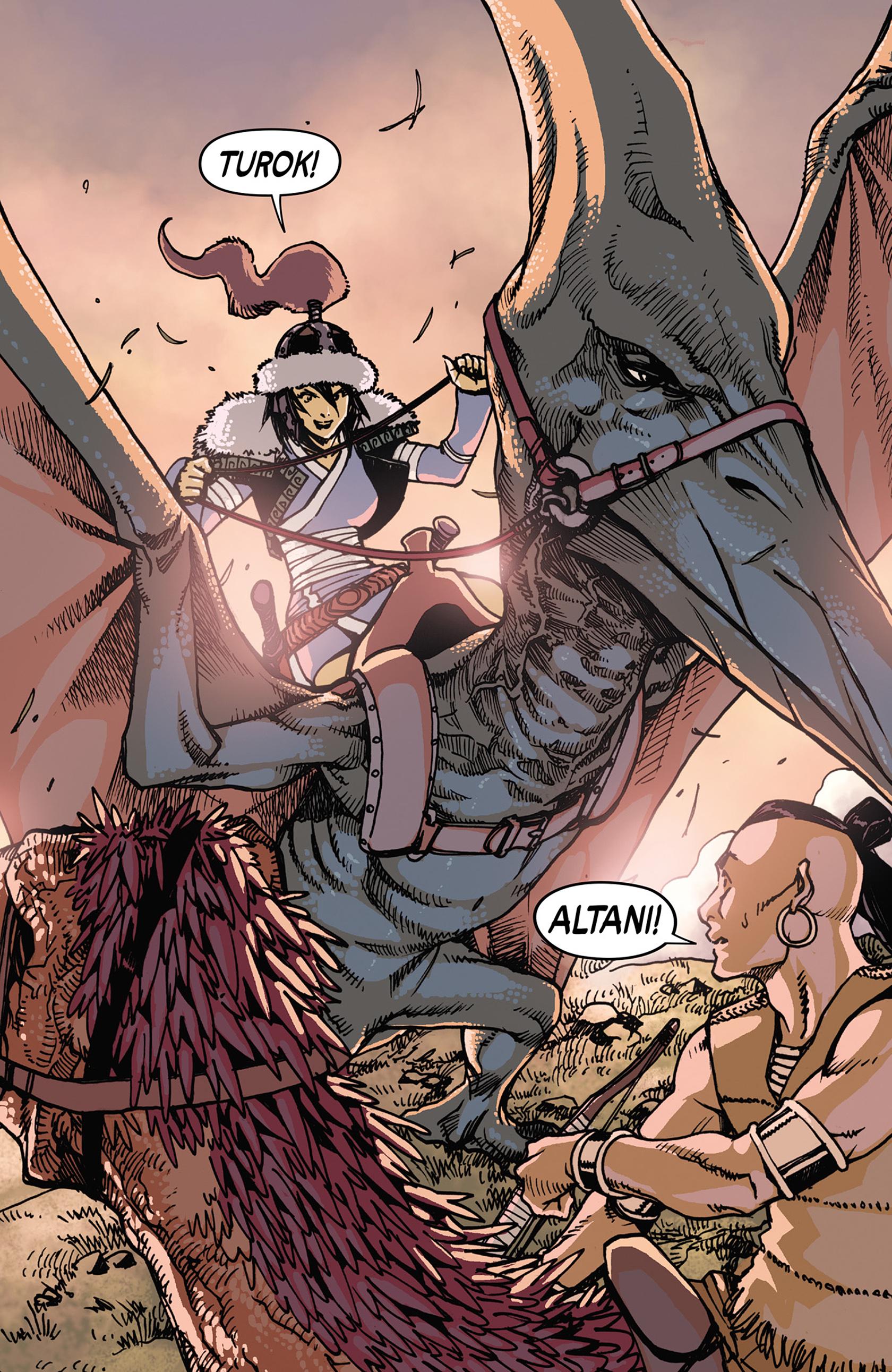 Read online Turok: Dinosaur Hunter (2014) comic -  Issue #7 - 20