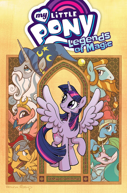 Legends of Magic Volume 1 TPB Officially Solicited!