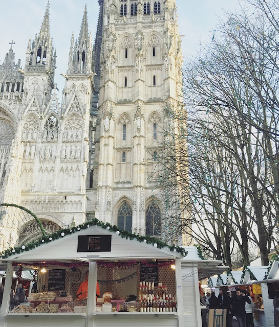 christmas market in rouen, christmas market in france, marche de noel rouen