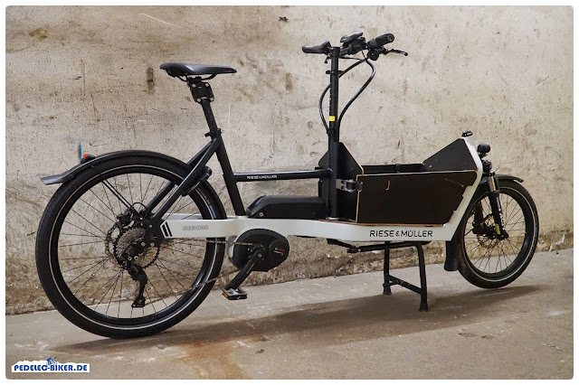 Der Radstand des Packster 40 ist kaum größer als bei einem 29'' City eBike.