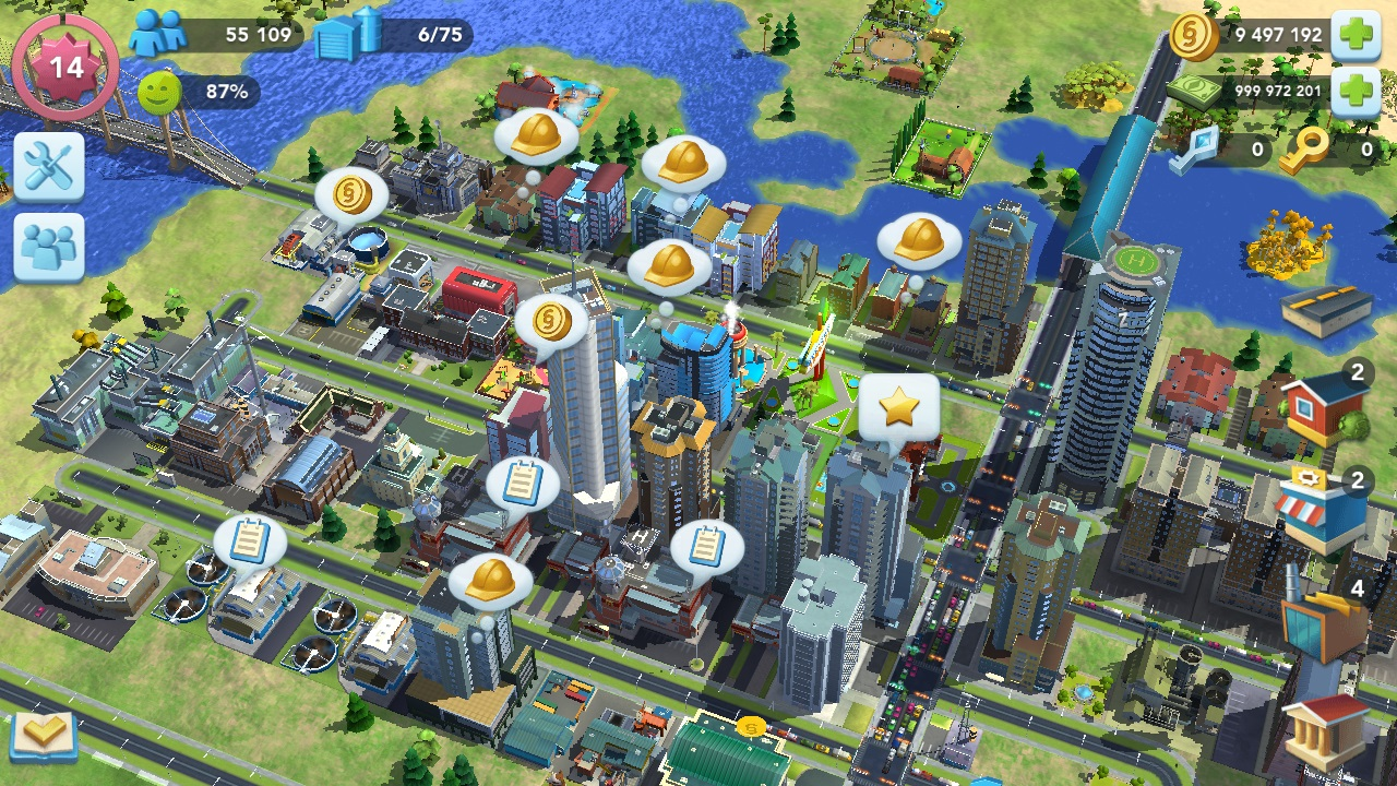 Download Simcity buildit Mod Apk-Get[Money/Cheats/unlimited free powers]