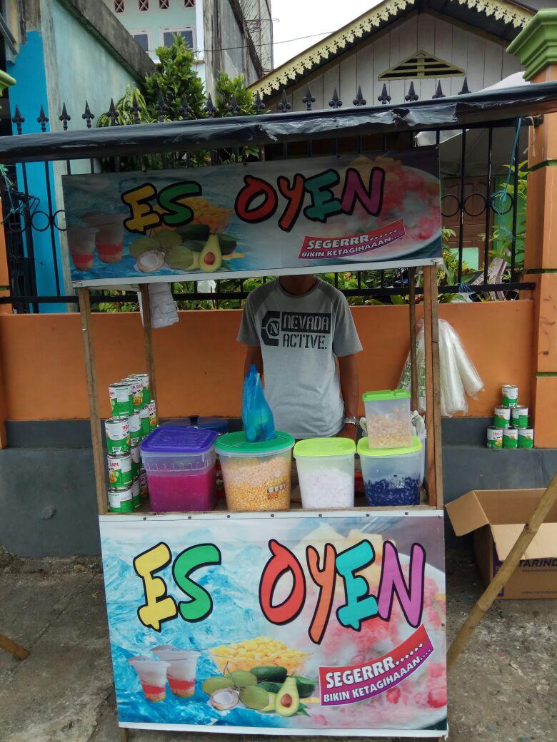 Pedagang Musiman Di Kota Manna Incar Es Oyen Sebagai Jajanan Yang Menguntungkan