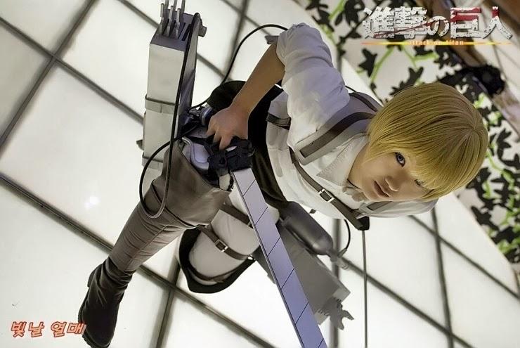 Armin Arlert (Shingeki No Kyojin) Cosplay By Jiyoon